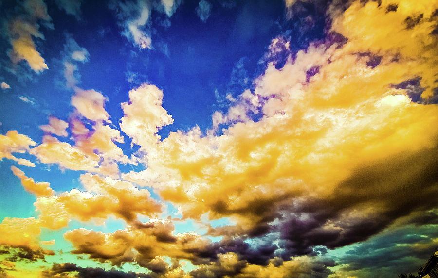 Golden Sky Photograph