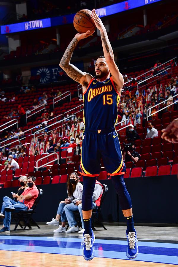 Golden State Warriors v Houston Rockets Photograph by Cato Cataldo