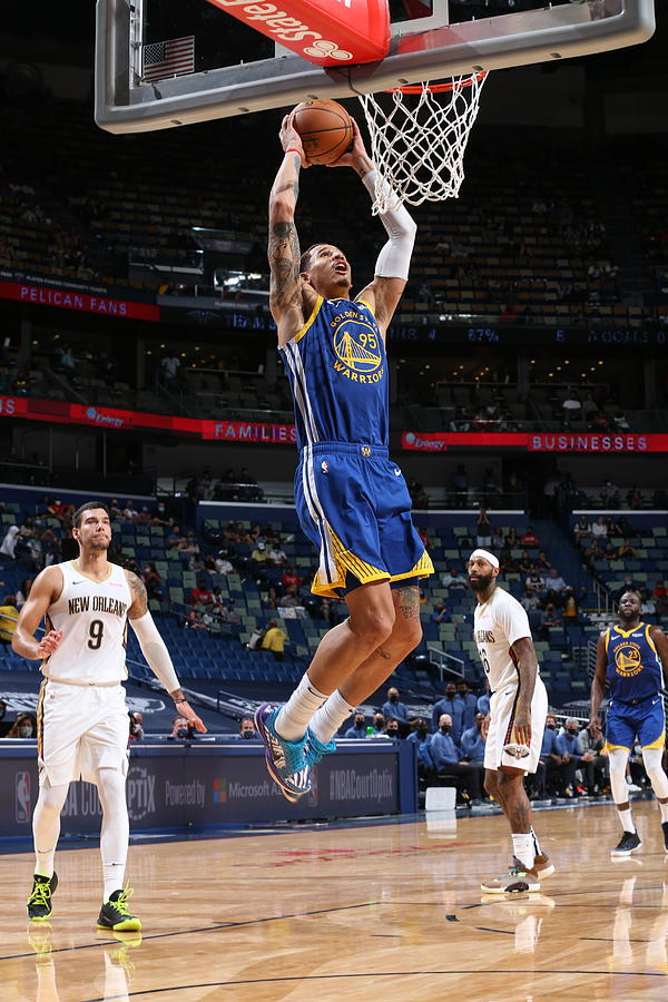 Golden State Warriors v New Orleans Pelicans Photograph by Layne Murdoch Jr.