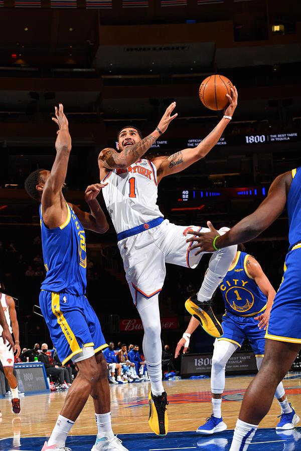 Golden State Warriors v New York Knicks Photograph by Jesse D. Garrabrant