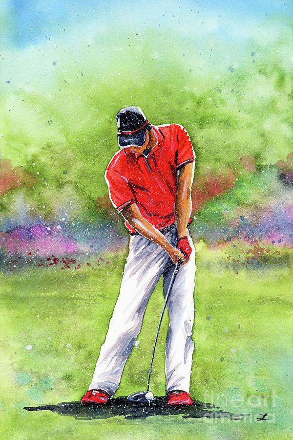 Golf Time Painting