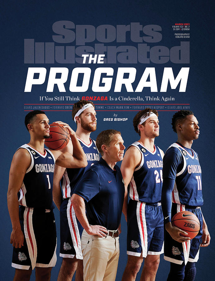Gonzaga The Program cover Photograph by Sports Illustrated