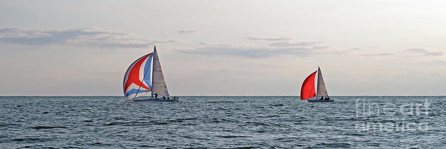 Good Sailing - wide by Ann Horn
