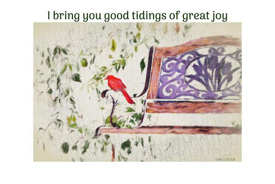 Good Tidings Luke 2 by Diane Lindon Coy