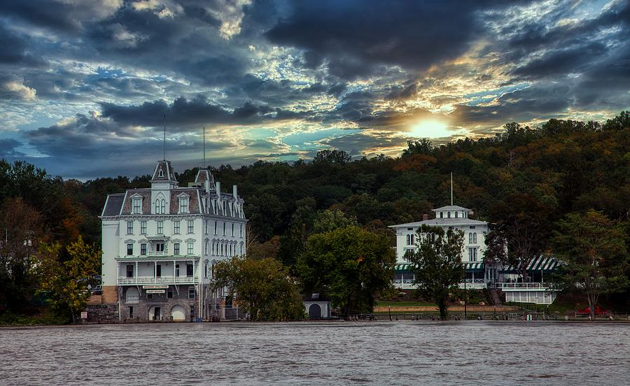 Goodspeed Opera House Photograph - Goodspeed Opera House At Sunset by Mountain Dreams