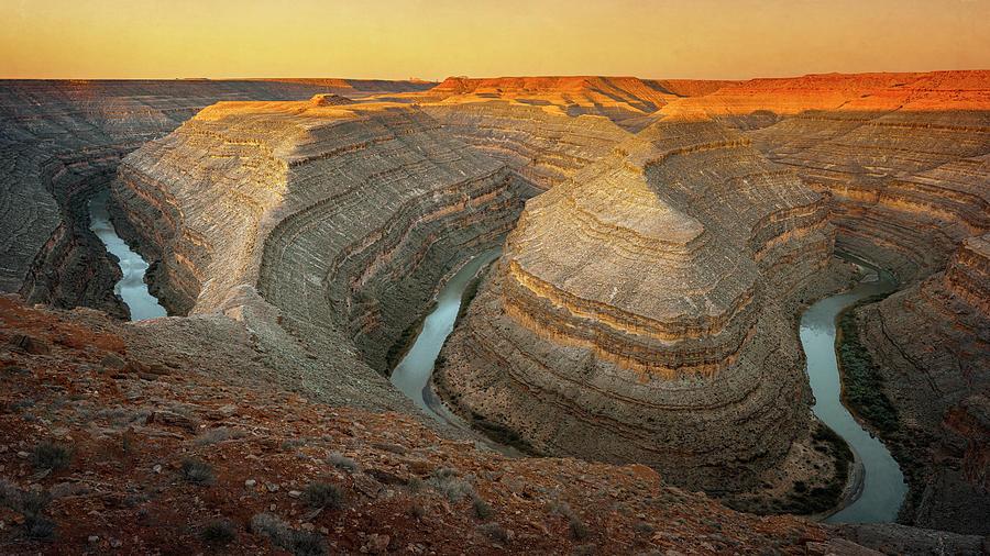Gooseneck State Park Utah II Photograph