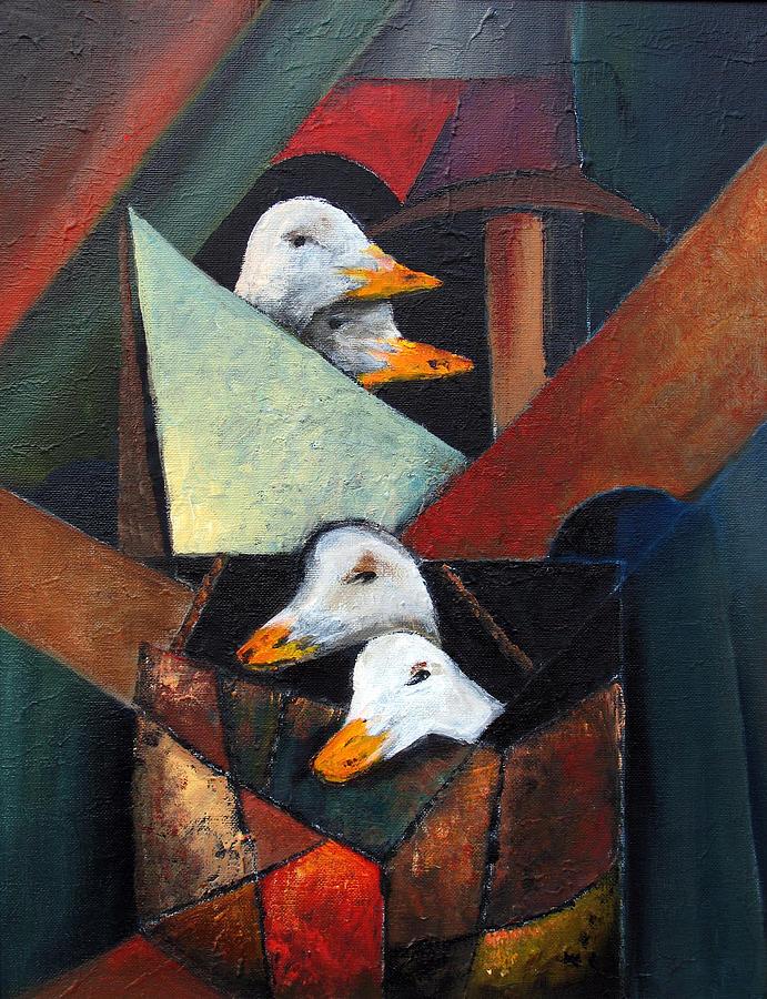 Goosey Goosey Ganders by Val Byrne