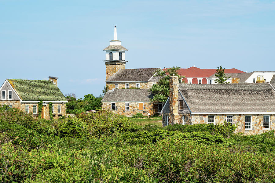 Gosport Village on Star Island in the Isles of Shoals, New Hampshire by Dawna Moore Photography
