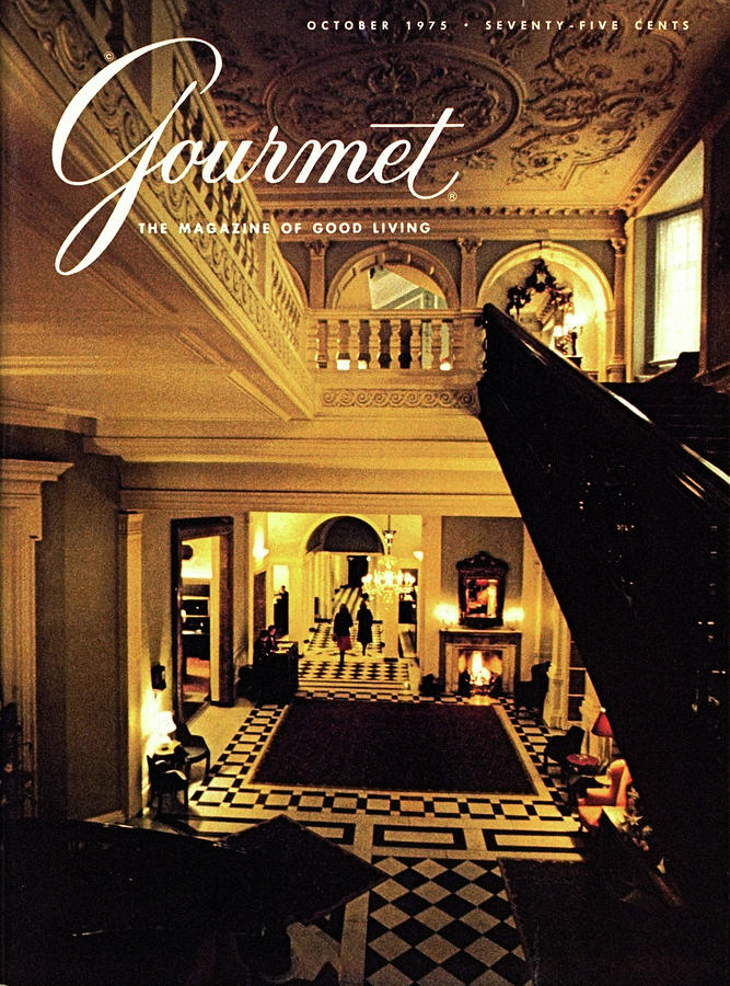 Gourmet Cover Featuring Claridges Hotel Lobby Photograph by Ronny Jaques