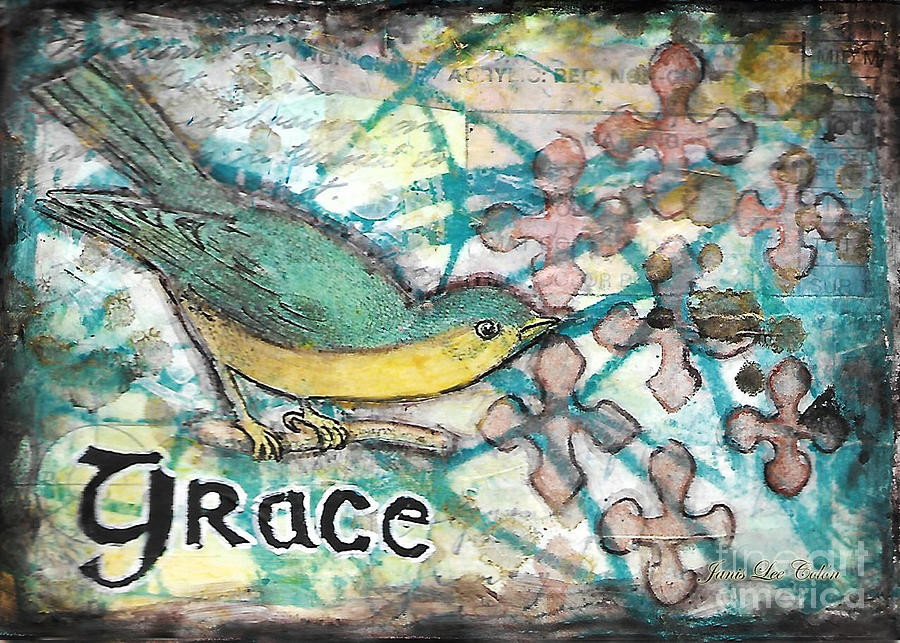 Grace Mixed Media - Grace by Janis Lee Colon