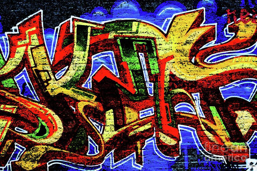 Graffiti Photograph - Graffiti 17 by Alan Harman