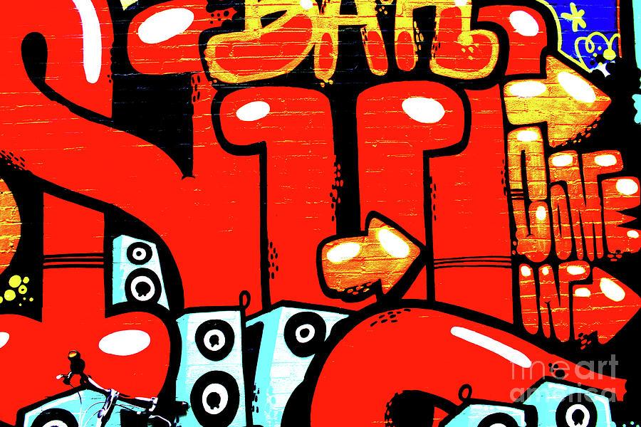 Graffiti Photograph - Graffiti 19 by Alan Harman