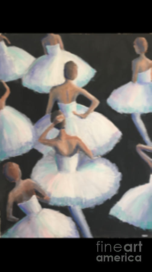 Ballet Painting - Grand Ballet by Mark Macko