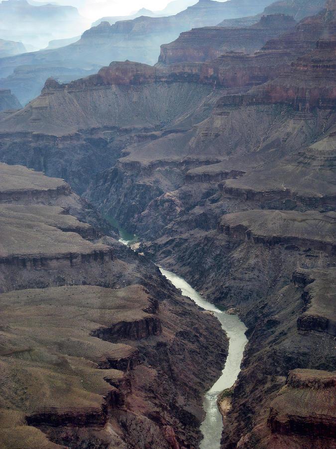 Grand Canyon And Colorado River Photograph
