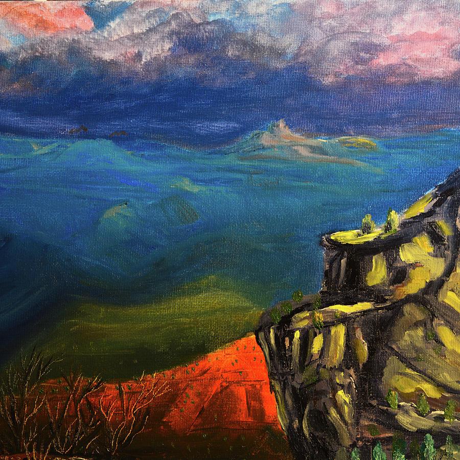 Grand Canyon Golden Hour by Chance Kafka