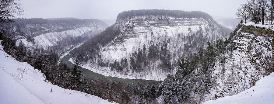 Grand Canyon Of The East - Winter by Mark Papke