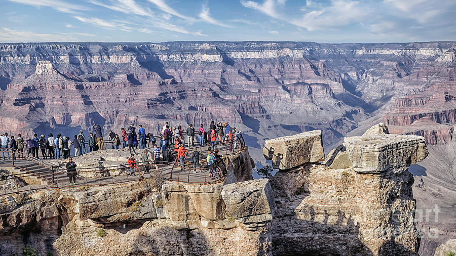 Grand Canyon Overview Photograph