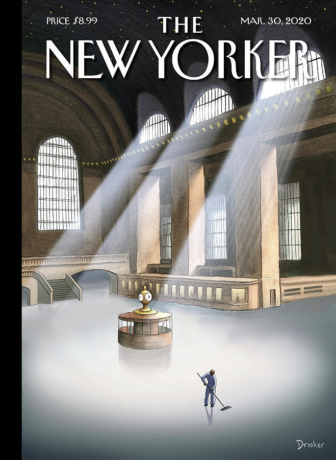 Grand Central Terminal Painting by Eric Drooker