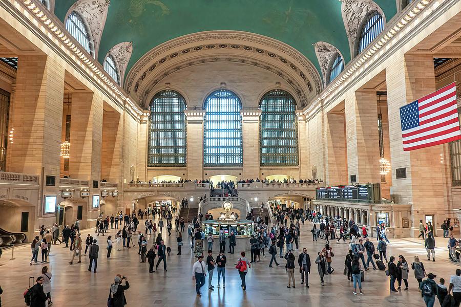 Grand Central Terminal Photograph - Grand Central Terminal by Sandi Kroll