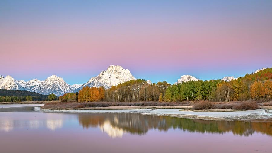 Landscape Photograph - Grand Teton NP Fall beauty by Russell Cody