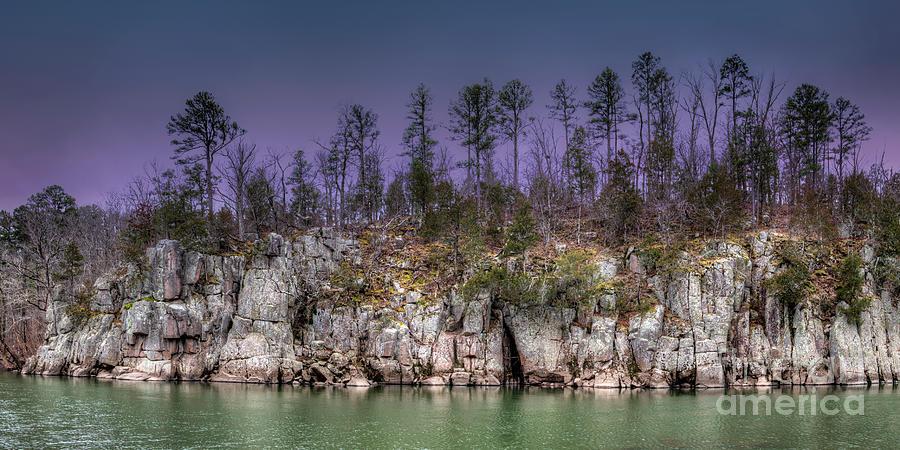 2016 Photograph - Granite Bluff  by Larry Braun