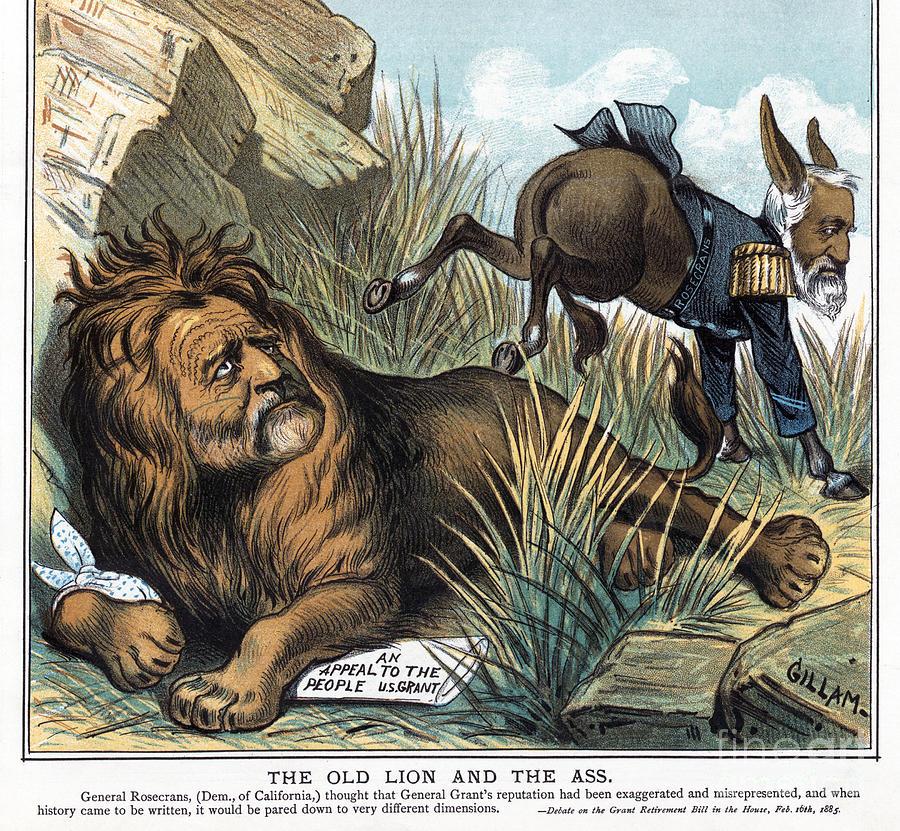 Grant Cartoon, 1885 by Bernhard Gillam