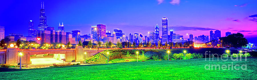Grant Park  Chicago south LSD by Tom Jelen