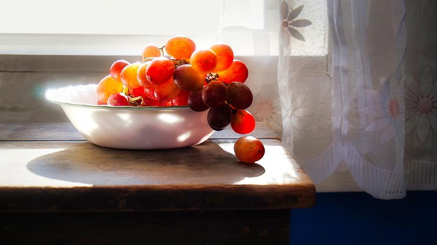 Grapes in Still Life by Bryan Smith