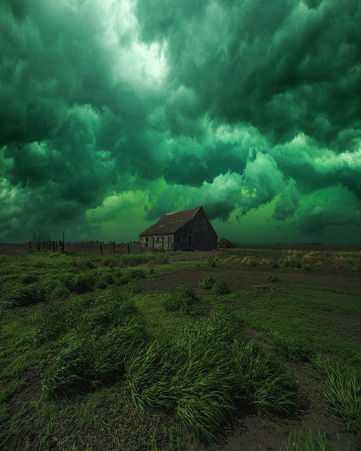 Severe Weather Photograph - Grassroots  by Aaron J Groen