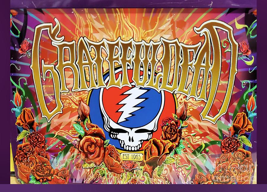 Grateful Dead Poster Art Photograph