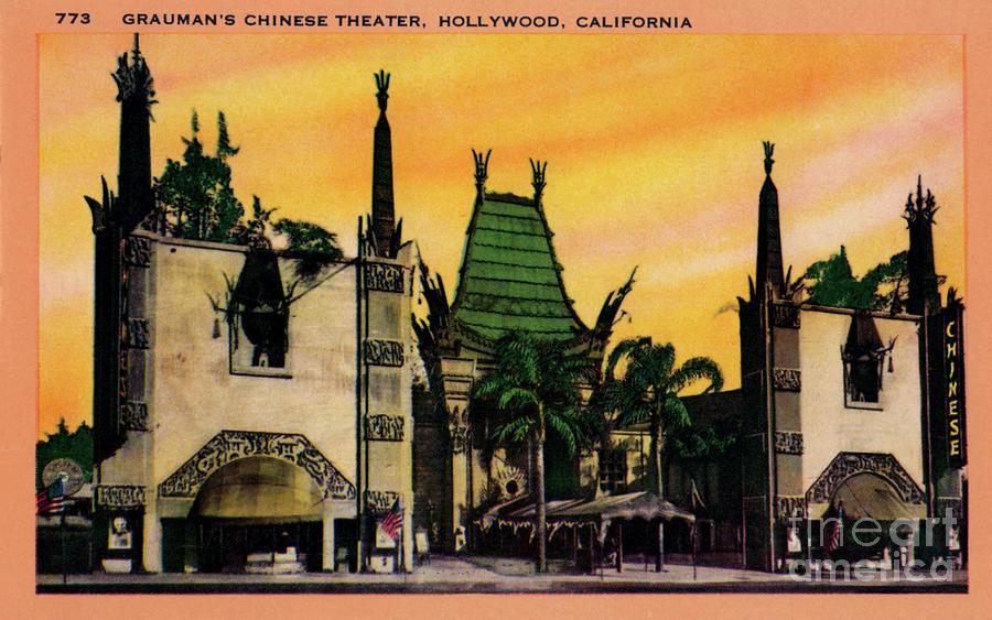 Graumans Chinese Theatre Photograph