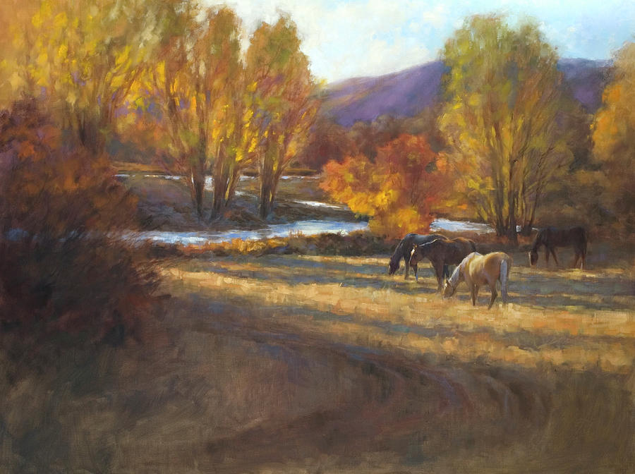 Grazing in Gold by Susan Blackwood