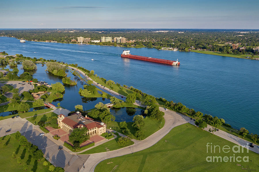 Great Lakes Shipping Photograph