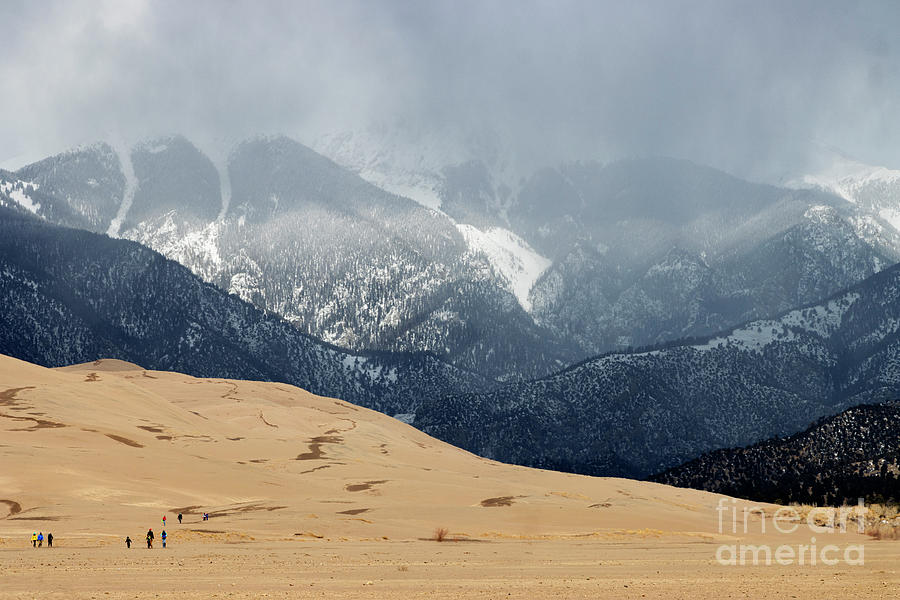 Great Sand Dunes National Park And Preserve Photograph