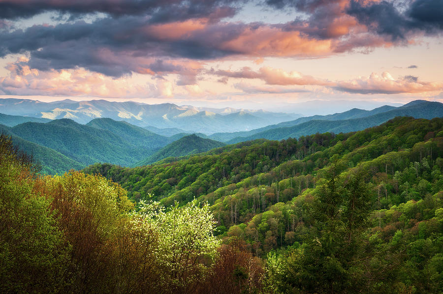 Great Smoky Mountains National Park Scenic Landscape Cherokee Nc Photograph