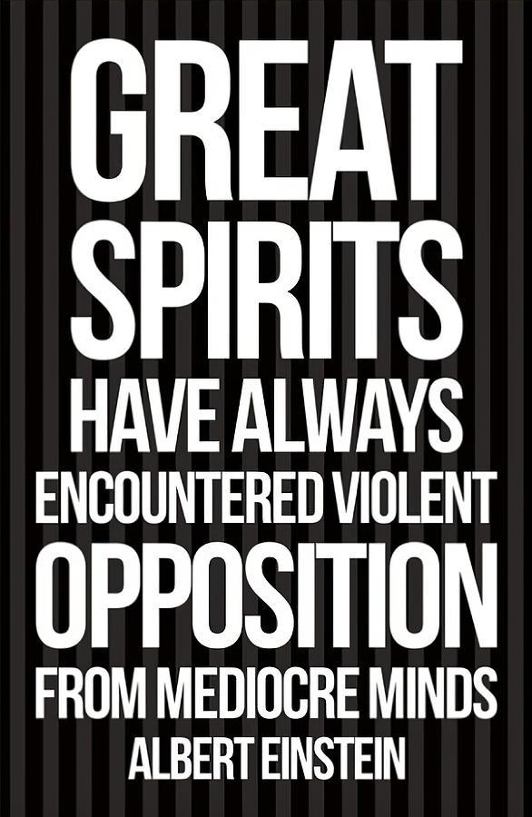 Great Spirits Violent Opposition by Floyd Snyder