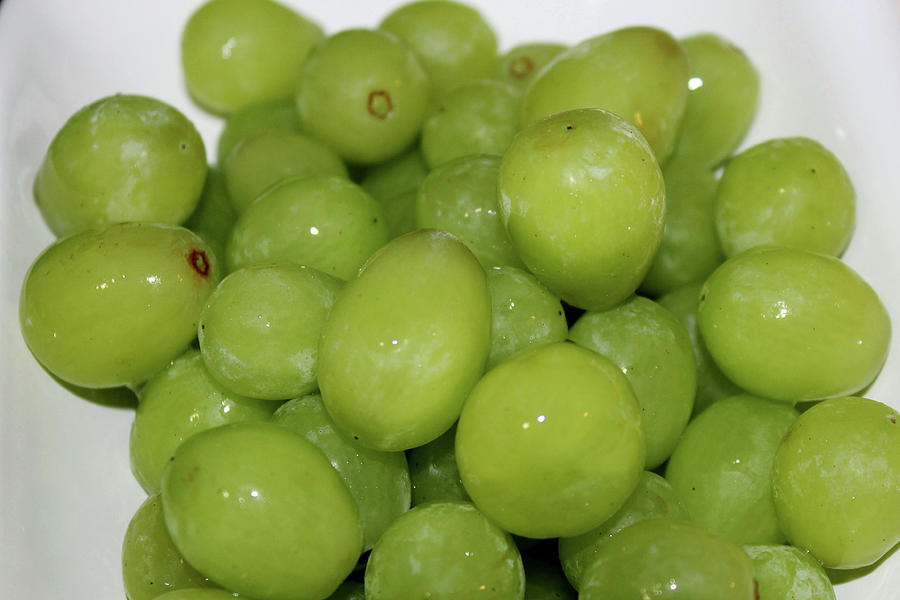 Green Grapes Photograph