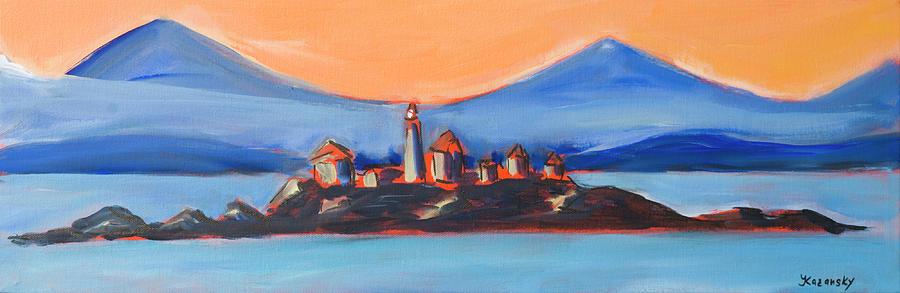 Green Island Lighthouse Canada by Yulia Kazansky