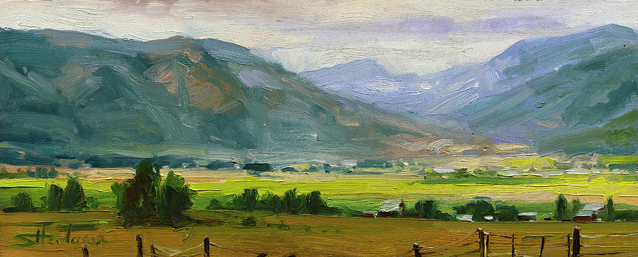Green Mountain Valley Painting