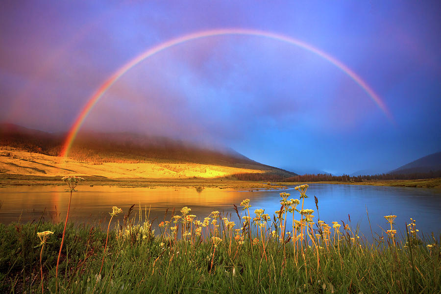 Green River Rainbow Photograph