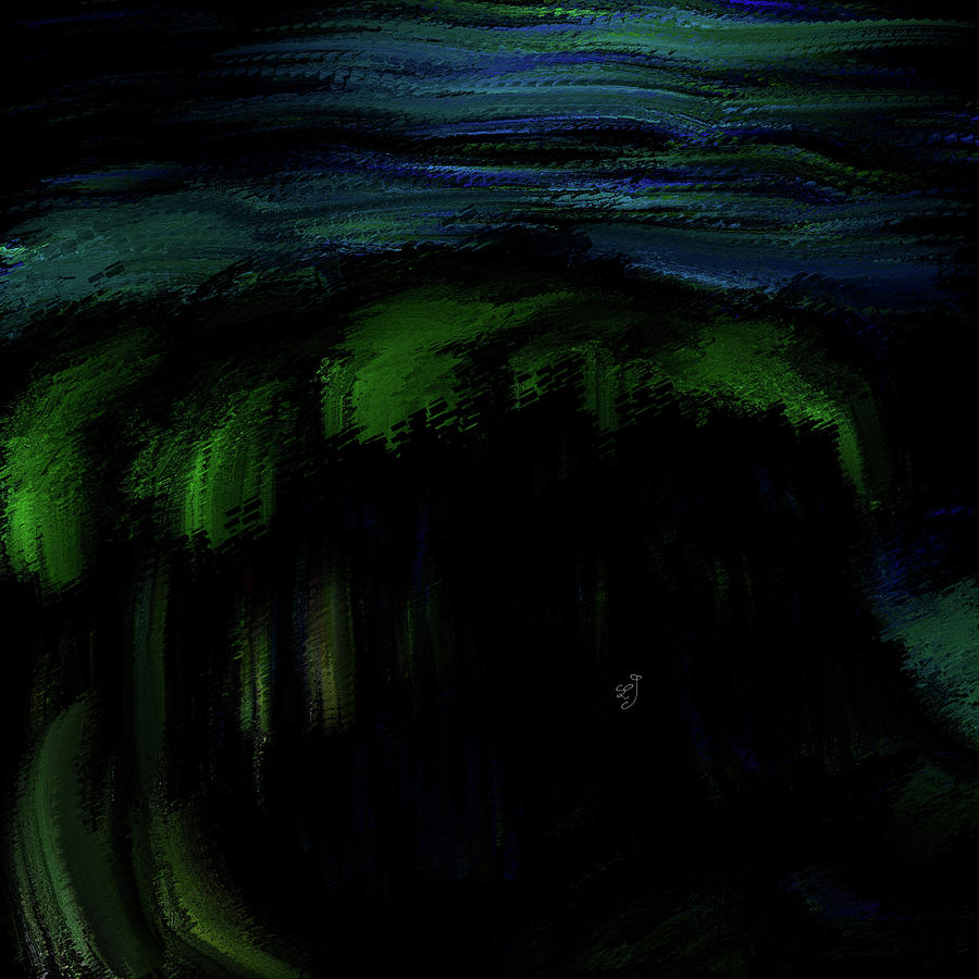 Green Top #k9 Digital Art