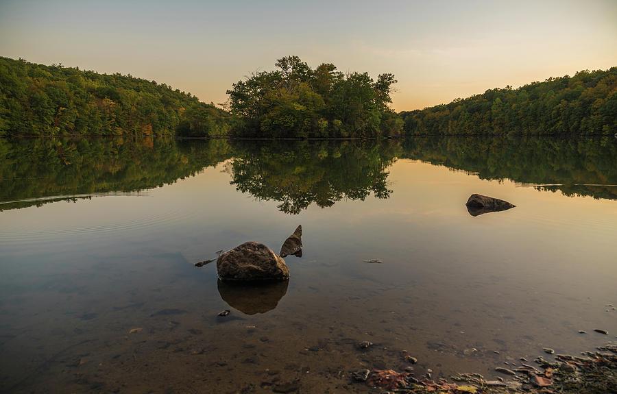 Green Turtle Lake by Kristopher Schoenleber