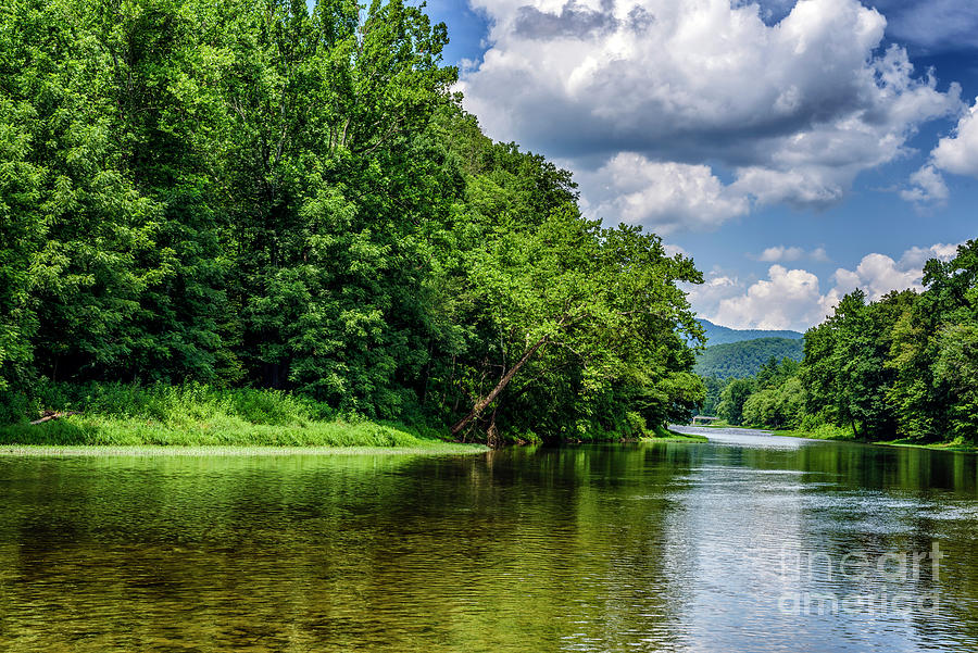 Greenbrier River On A Summer Day Photograph