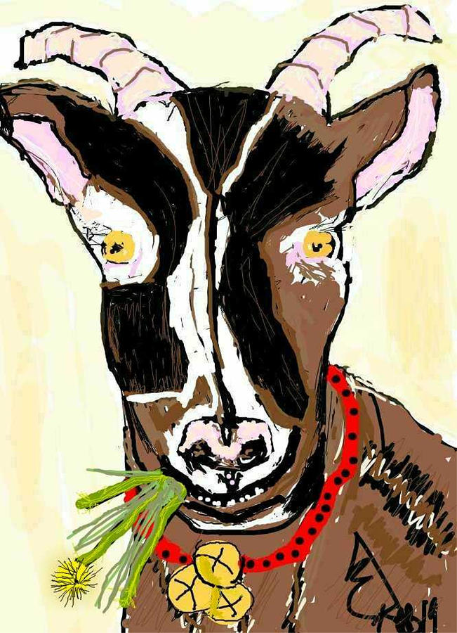 Greetings Goat by Kathy Barney