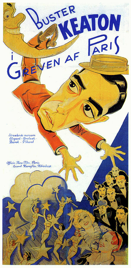 greven Of Paris Poster 1935 Mixed Media