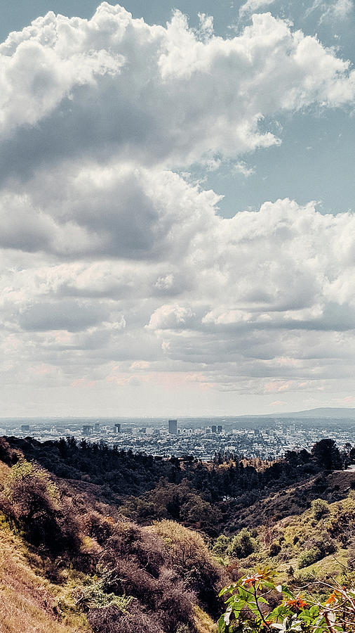 Los Angeles Photograph - Griffith Observatory Drive View by Jera Sky