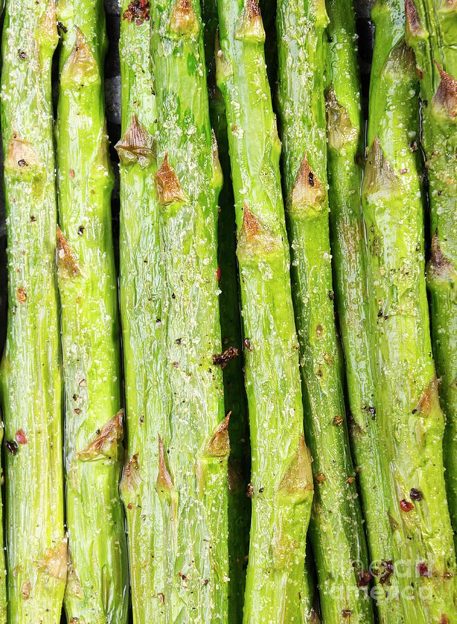 Grilled Asparagus Photograph