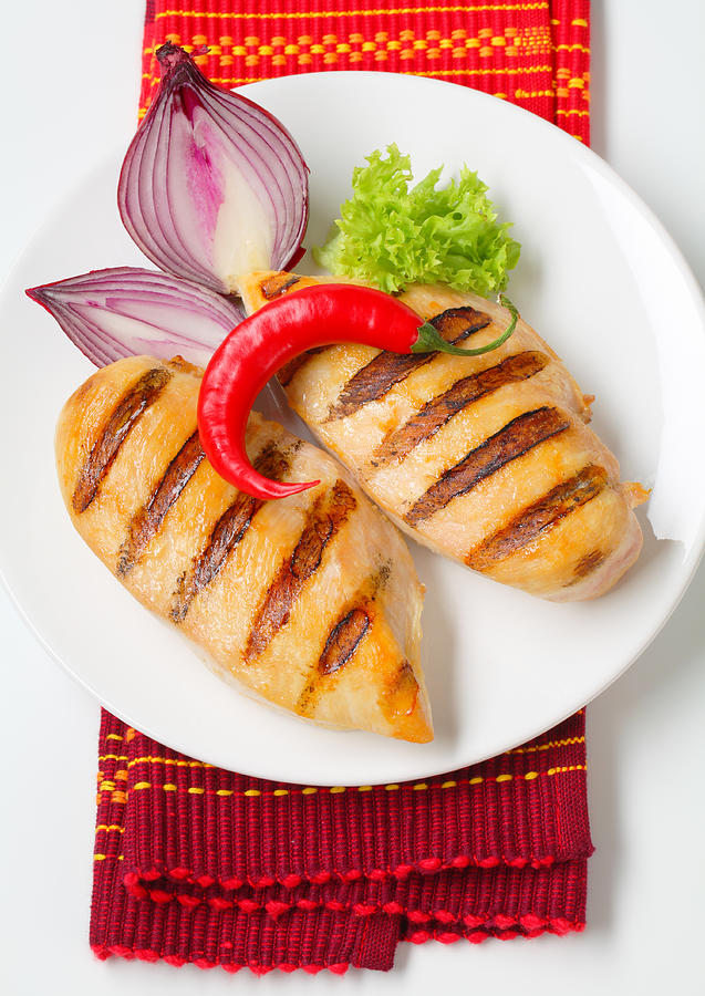 Grilled Chicken Breasts Photograph by Basilios1