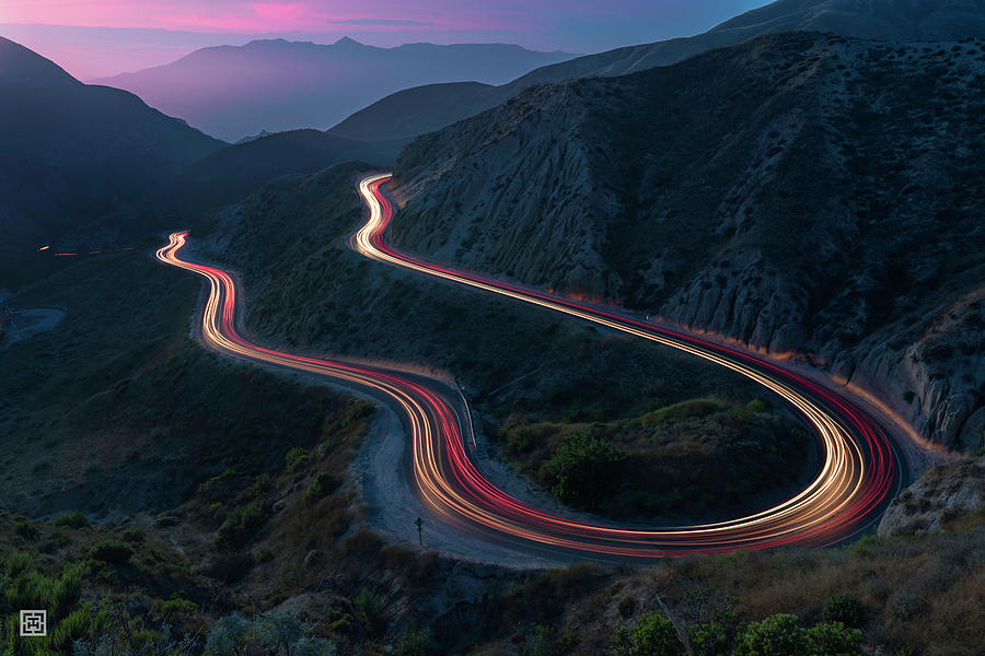 Grimes Canyon Photograph - Grimes Canyon Raceway  by Tim Hungerford
