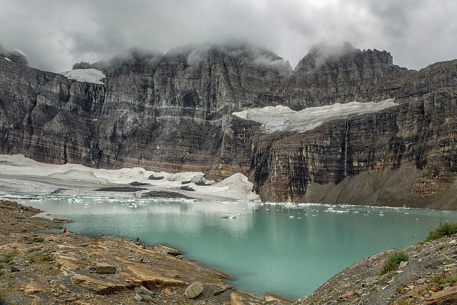 Grinnell And Salamander Glaciers, Soon Things Of The Past Photograph